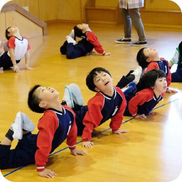 体操教室風景
